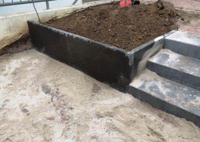 Gartenumgestaltung