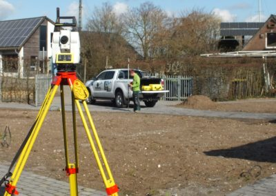 Digitale Vermessung Leica iCON Total Station