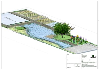 Vorentwurf Gartenplanung
