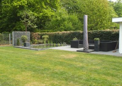 Teich Hausgarten Kleve
